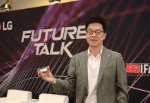 """LG """"Geliştir, Bağlan ve Aç"""" stratejisi üzerinden yeni bir dönüşüm Sunuyor.. Berlin'deki IFA 2019'u başlatmak için düzenlenen bir panelde, LG Electronics Başkanı ve Teknoloji Müdürü Dr. I.P. Park, şirketin AI destekli bir gelecek vizyonunu """"Her Yer Eviniz"""" başlıklı sunumuyla paylaştığı haber Patron Haber'de."""
